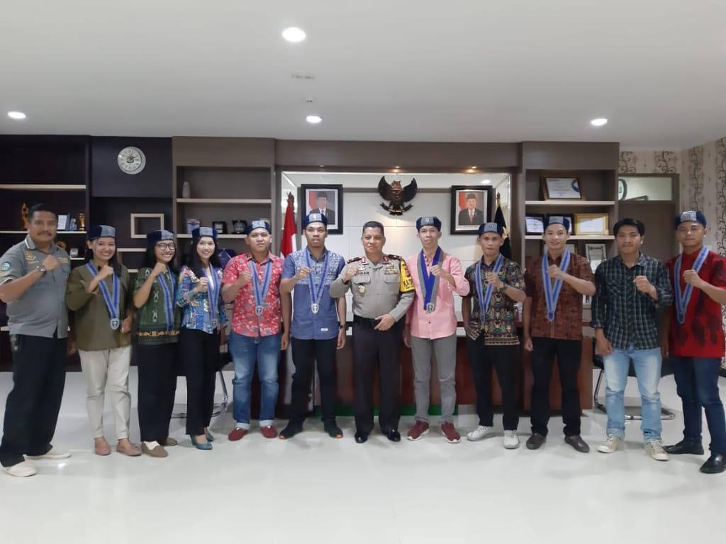 Kapolda Sulbar Terima Kunjungan Silaturahmi GMKI Cabang Mamuju