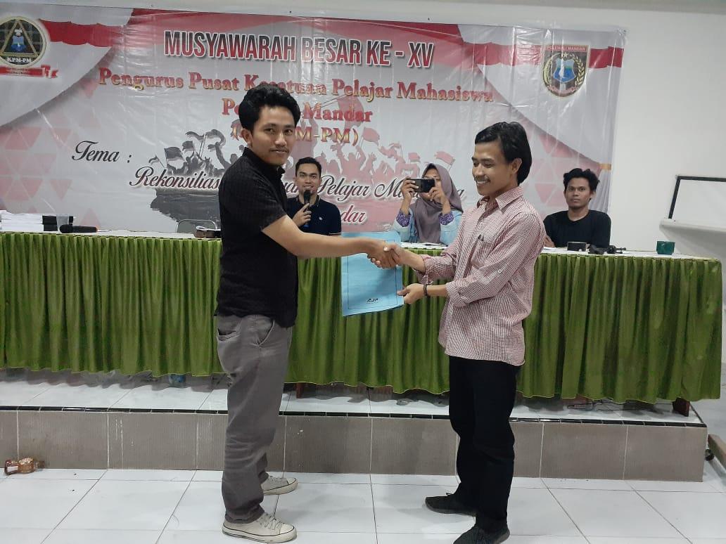Muh. Iksan Terpilih Jadi Ketua KPM-PM Periode 2019-2021