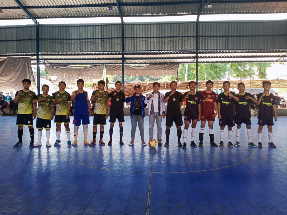 KNPI Mamuju Gelar Turnamen Futsal