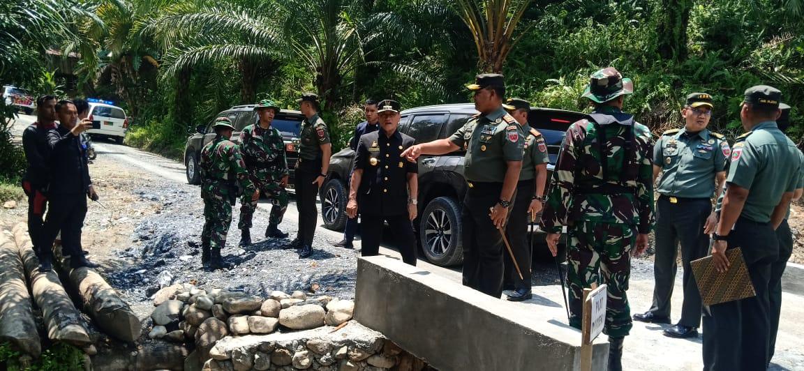 Pangdam XIV/Hasanuddin Resmi Menutup TMMD 106 di Sanjango.