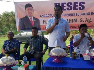 Diawal Kepemimpinannya, Abdul Rahim Serap Aspirasi Rakyat Polman