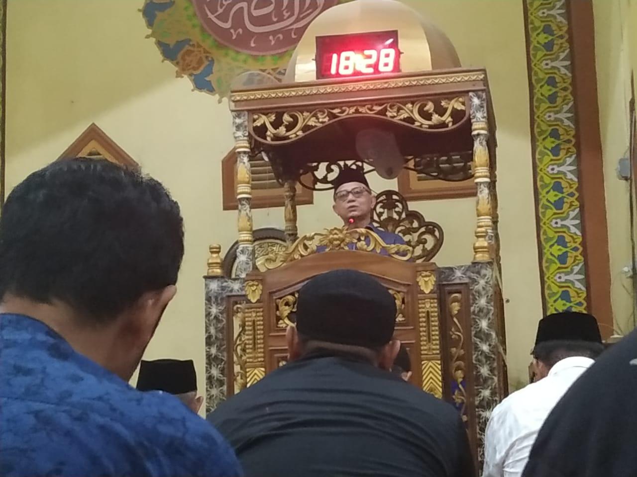 Apresiasi Imam Masji Al-Quba desa Bunde  Terhadap Pemkab Mamuju