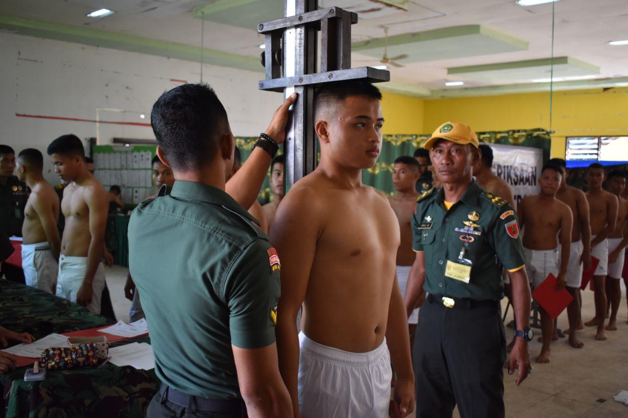 Hari keempat Seleksi Cata PK TNI - AD Gel. II Sub. Panda Mamuju