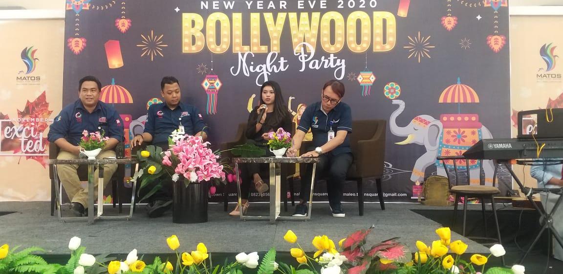 Malam Pergantian Tahun, Hotel Matos Mamuju Usung Bollywood Night Party