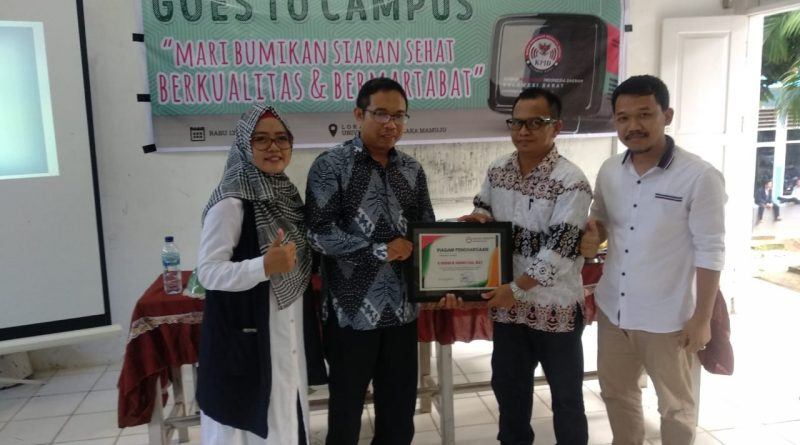 KPID Sulbar Sambangi Universitas Tomakaka