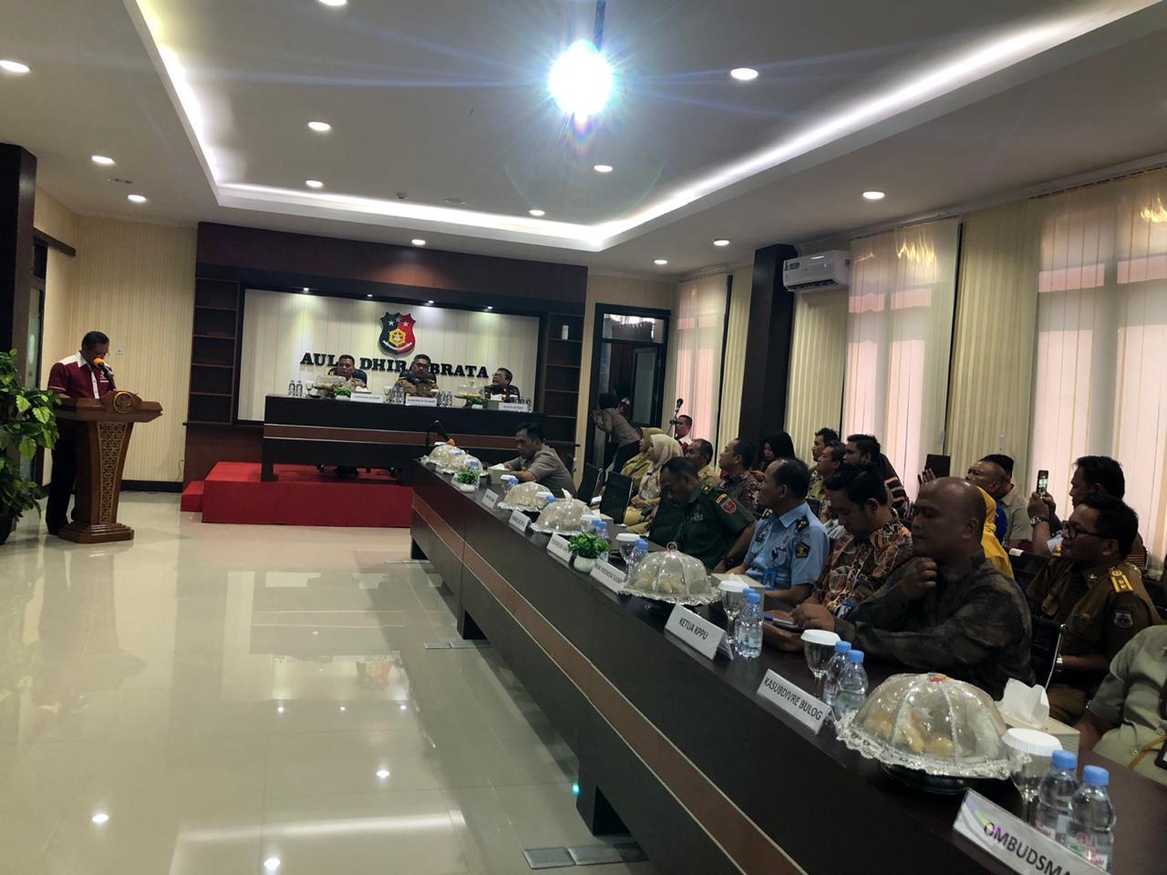 Ditkrimsus Polda Subar Launching Aplikasi Monitoring Harga Pangan