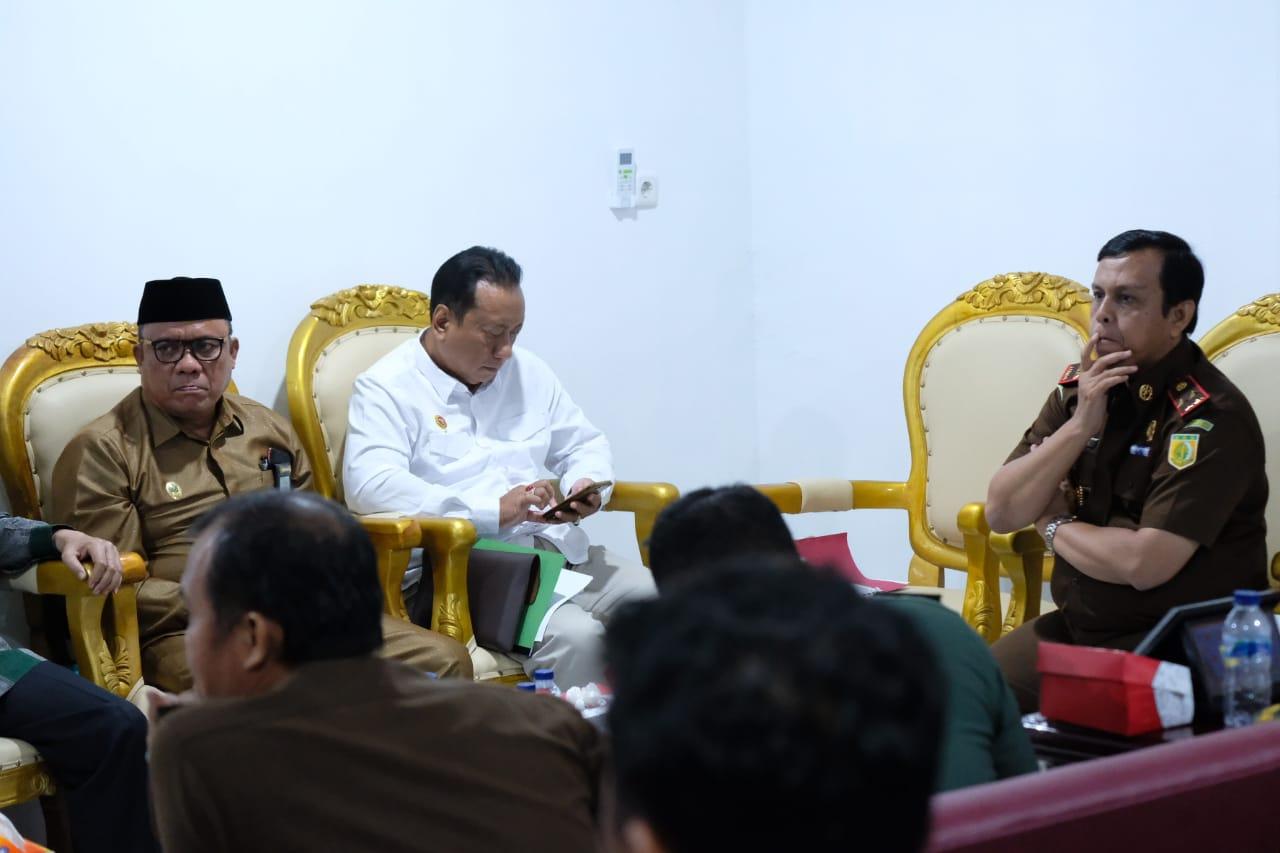 Kajati Sulbar Gelar Rapat Pembentukan dan Koordinasi Bakor Pakem