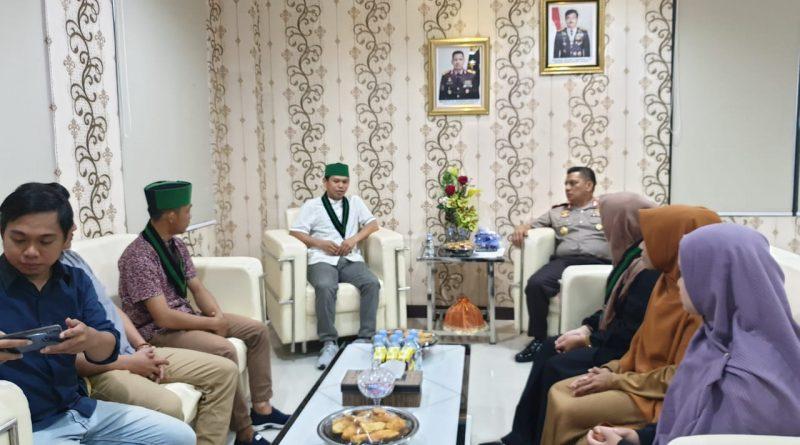 Kapolda Sulbar Audiens Bersama HMI Cabang Manakarra.