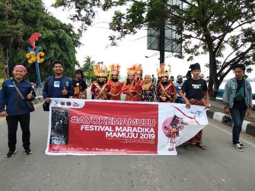 Festival Maradika Mamuju di Promosikan di Kaltim