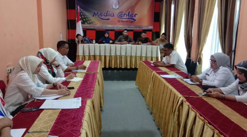 KPU Mamuju Gelar Rapat Persiapan Pilkada 2020