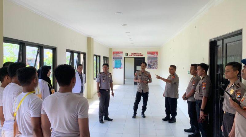 Cek Pelaksanaan Rekrutmen Bintara Talent Scouting, Kapolda Minta Peserta Yakini Kemampuannya Pasti Bisa.