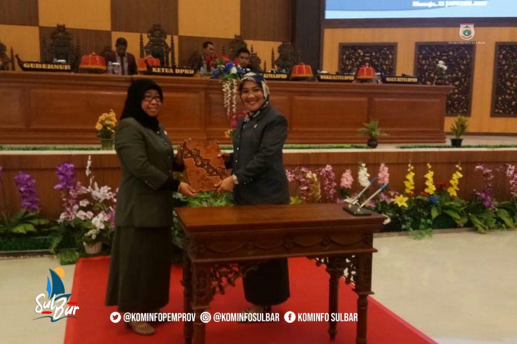Pemprov dan DPRD Sulbar Setujui Perubahan RPJMD