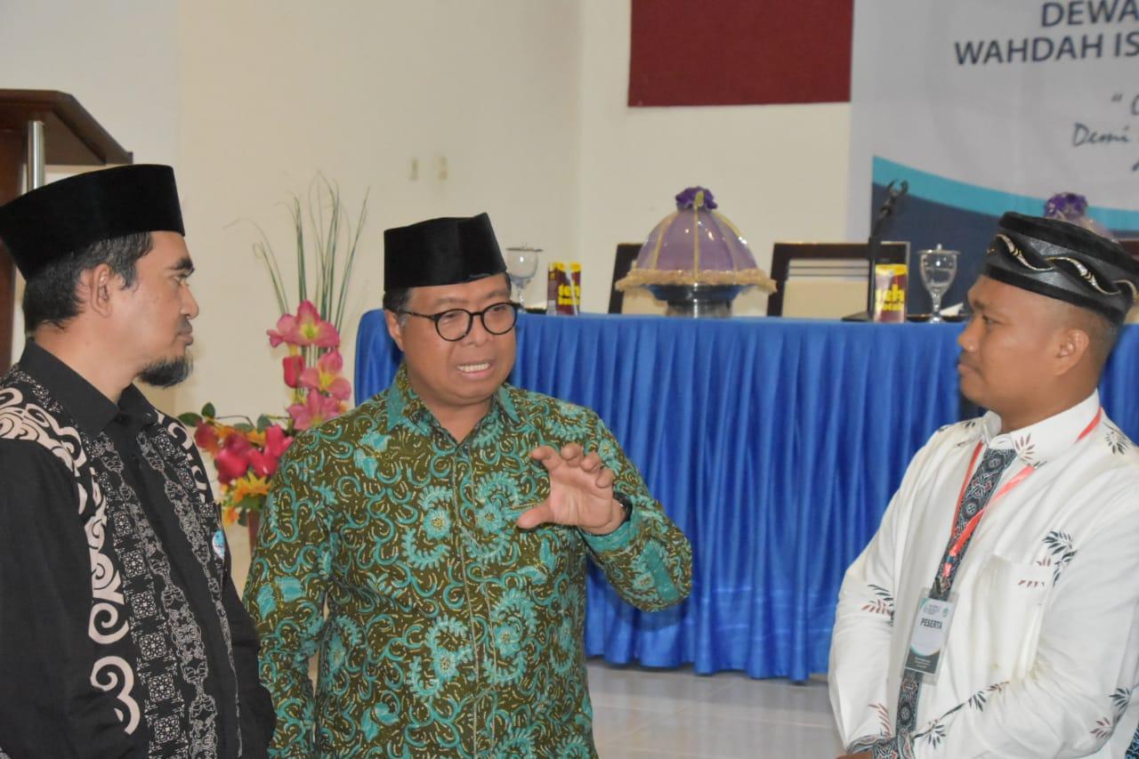 Idris DP Buka Muskerwil Wahdah Islamiyah