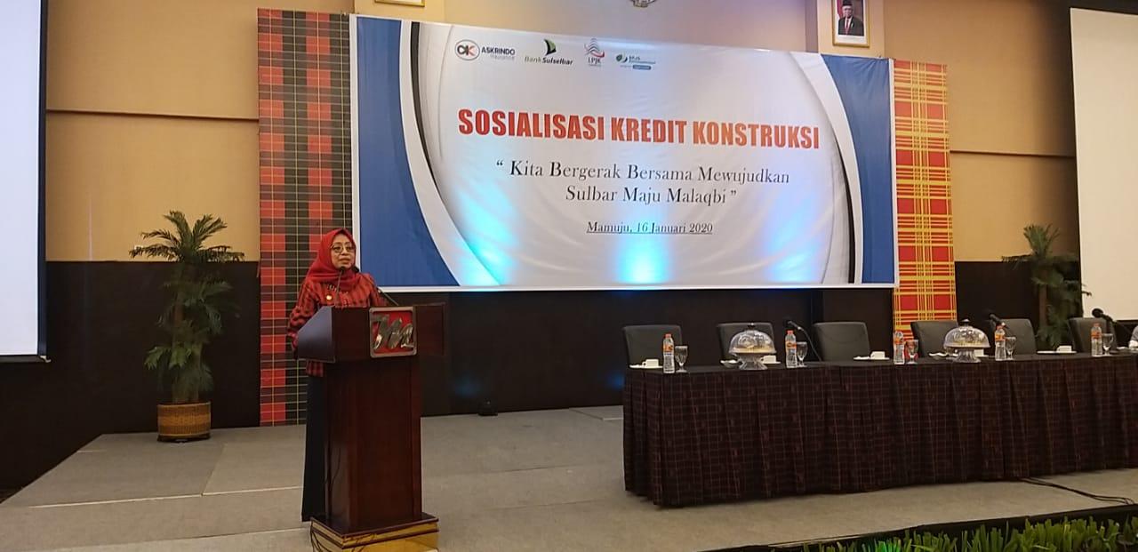 Pengusaha Konstruksi Lokal Diminta Berperan Aktif Bangun Sulbar