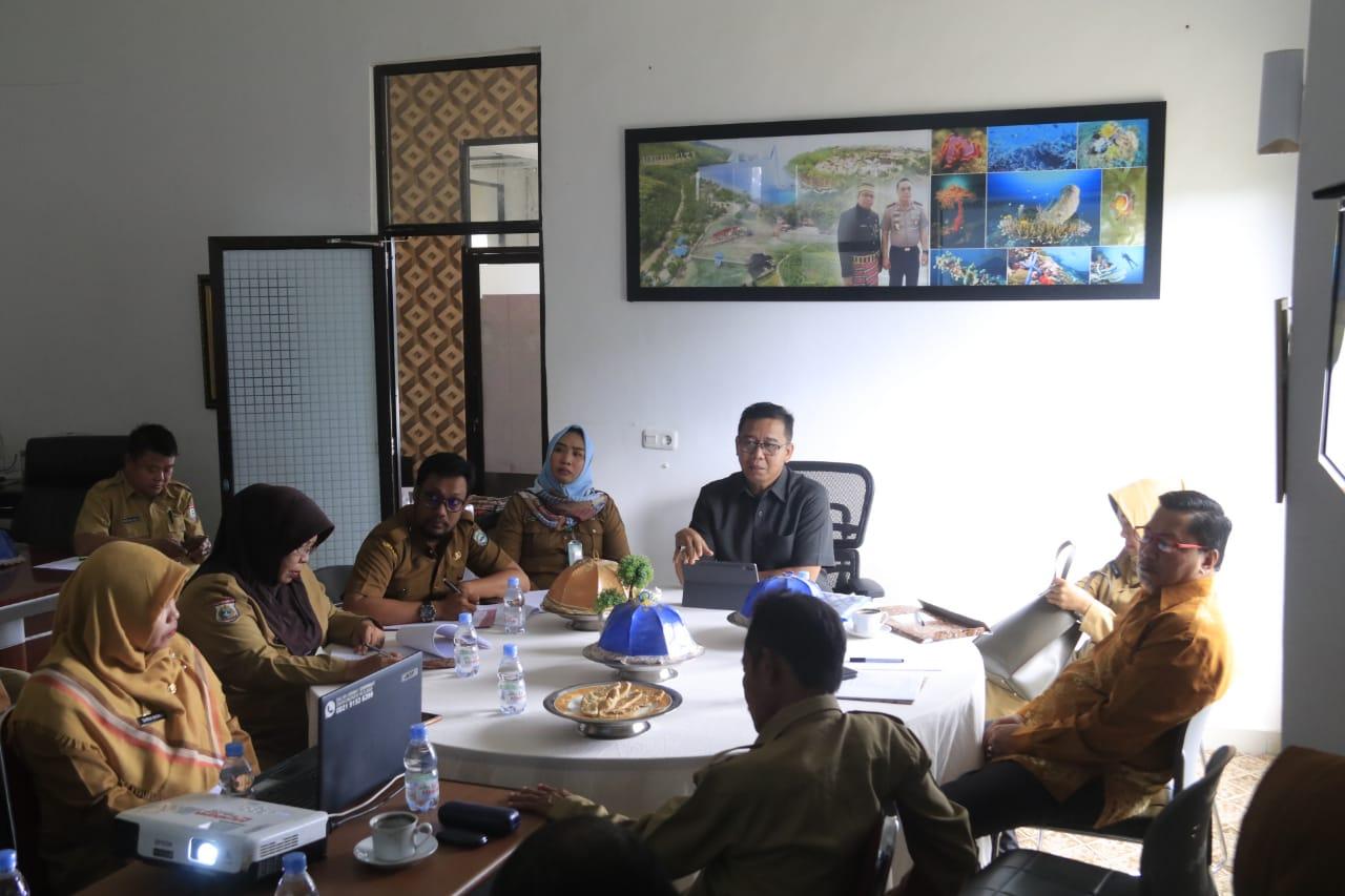 Bangun Sinergitas, Safaruddin Kumpul Dinas Kominfo Se-Sulbar