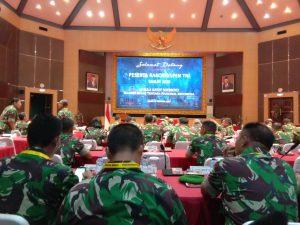 Kepala Staf Umum TNI membuka Rakornispen TNI
