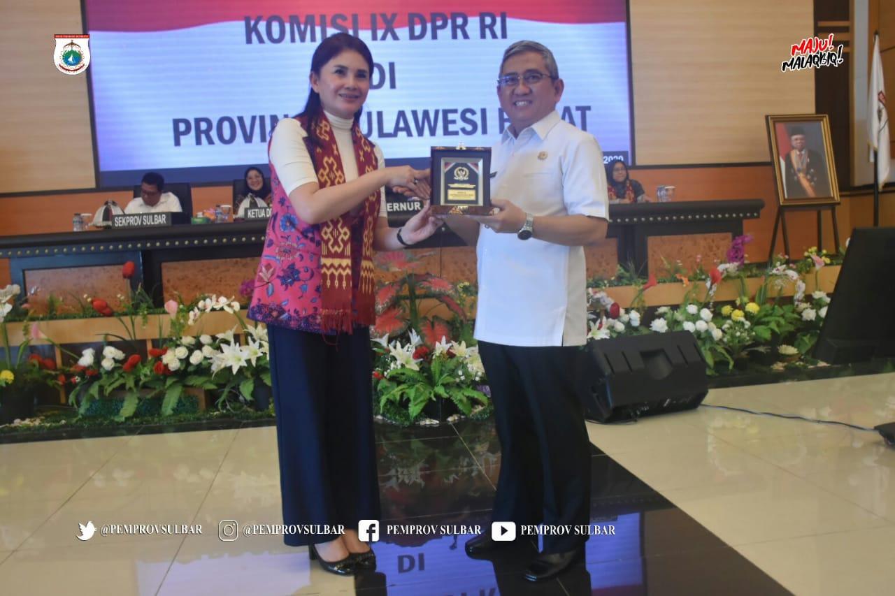 Komisi IX DPR RI Dorong Pembangunan Kesehatan di Sulbar