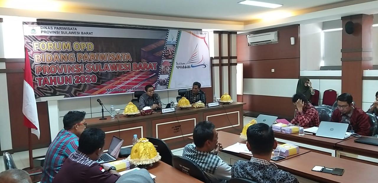 Sekprov Idris DP : Pegembangan Pariwisata Di sulbar Butuh Action