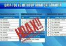 Ditlantas Polda Metro JayaTanggapi HOAX Penutupan Jalan