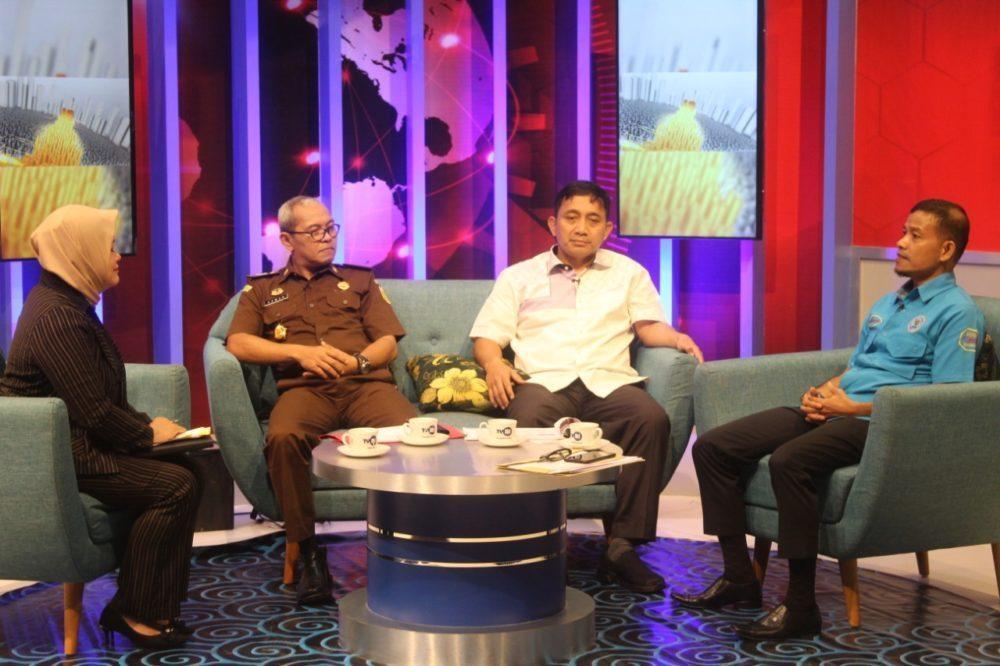 Bincang Malaqbi di TVRI, Direktur Narkoba Polda Sulbar Jadi Narasumber.