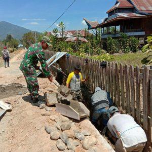 Babinsa Limbong Peduli Wilayah Binaan