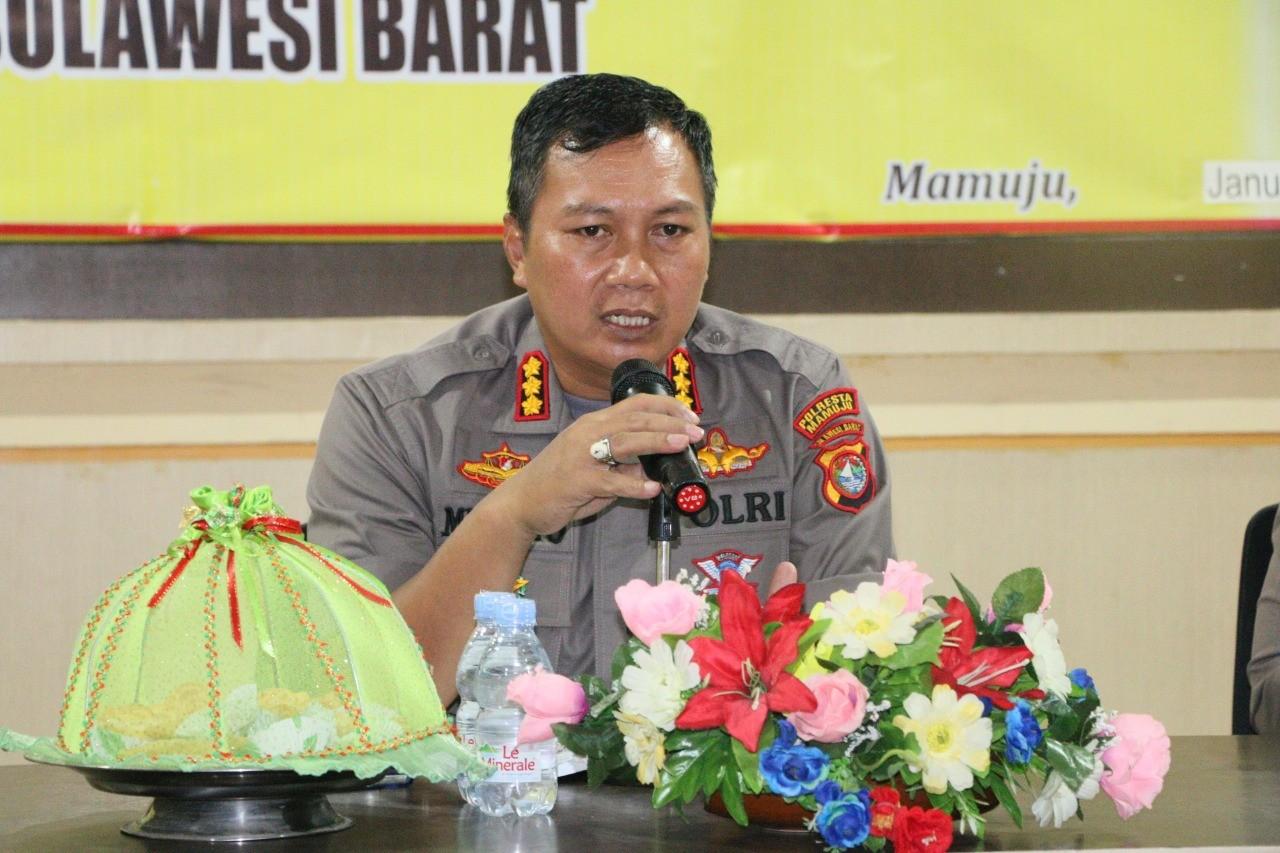 KBP Minarto : Begini Pelayanan Polresta Mamuju di Tengah Pandemik Covid-1a