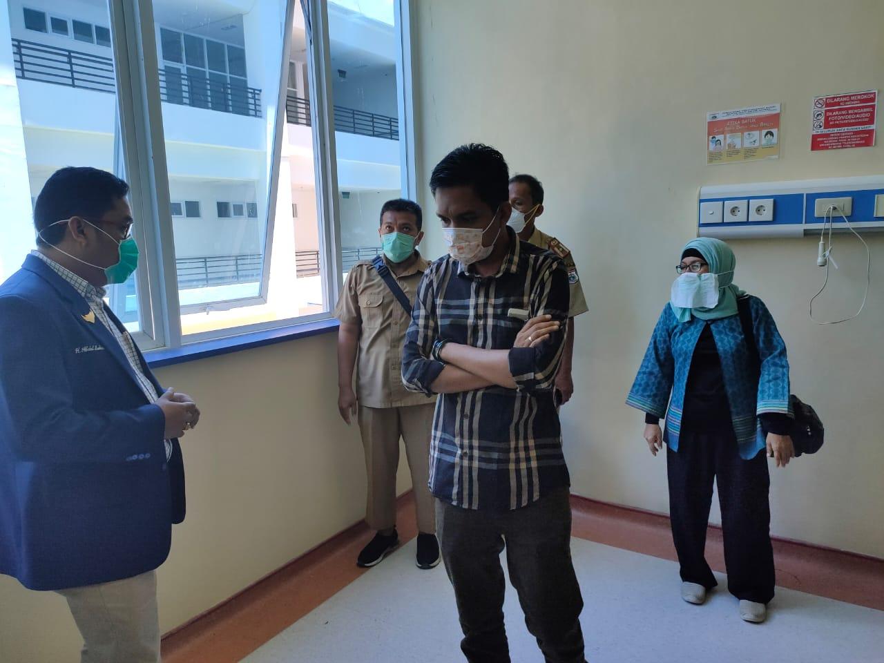 DPRD Sulbar Sidak RSUD Regional Hadapi Covid-19