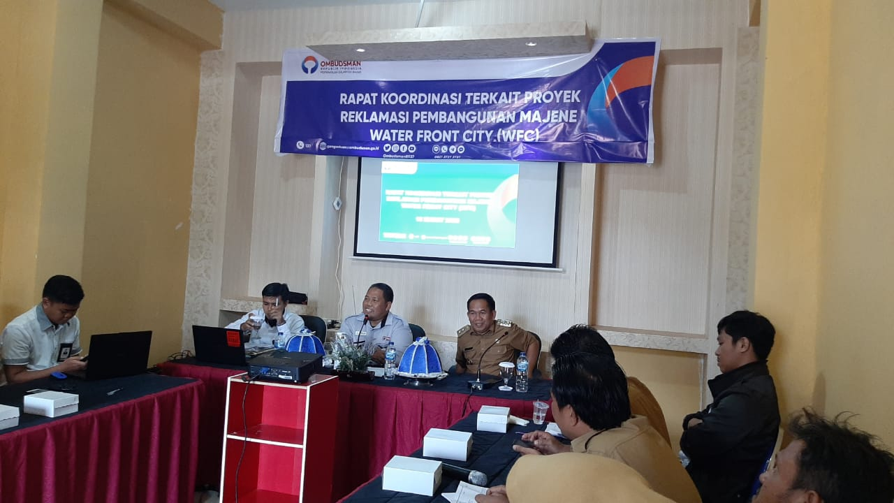 Terkait Aduan Proyek WFC, OmbudsmanSulbar Panggil Jajaran Pemda Majene