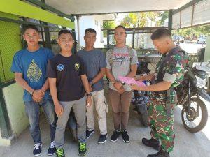 Babinsa sosialisasi Penerimaan Cata PK TNI AD