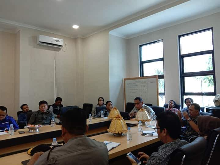 Tangkal Virus Corona, DPRD Kabupaten Mamuju Rapat bersama Stakeholder terkait