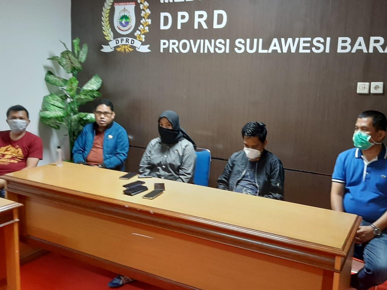 Penanganan Covid-19 DPRD Sulbar Geser Anggaran Internal 2 Miliar Rupiah
