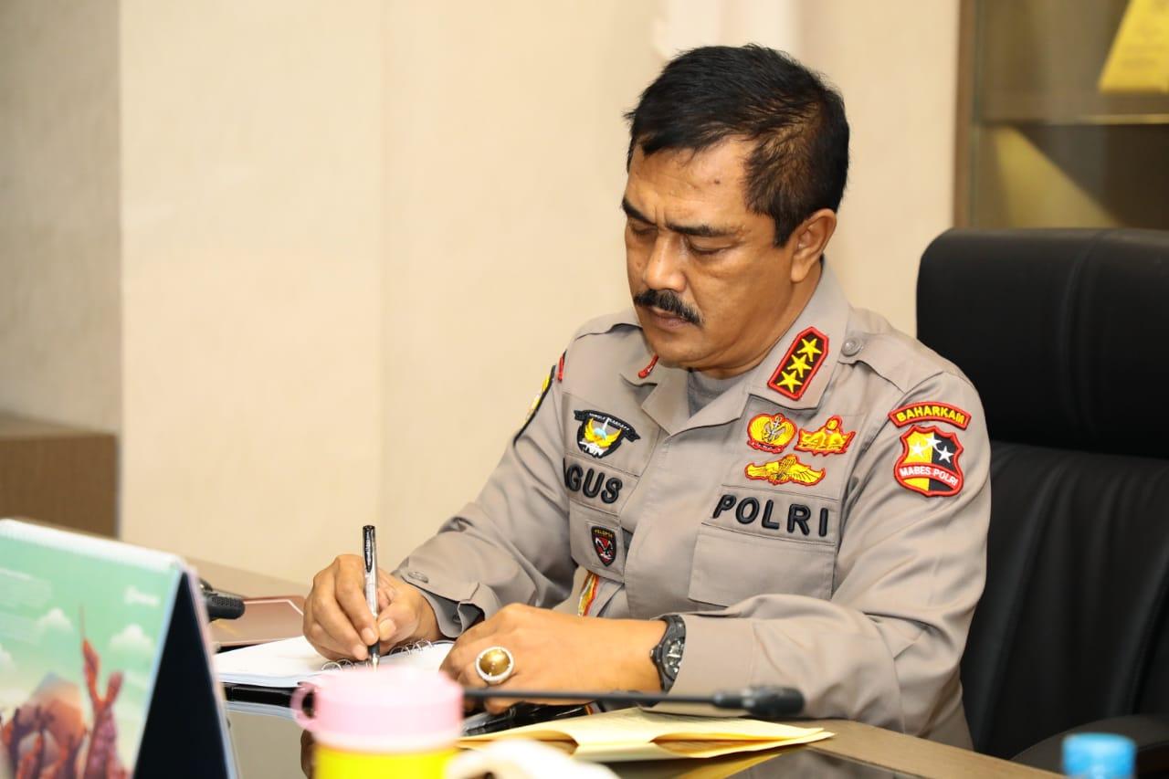 Dukung PSBB, Polri Keluarkan 2 Surat Telegram Kapolri yang Ditandatangani Kabaharkam Polri