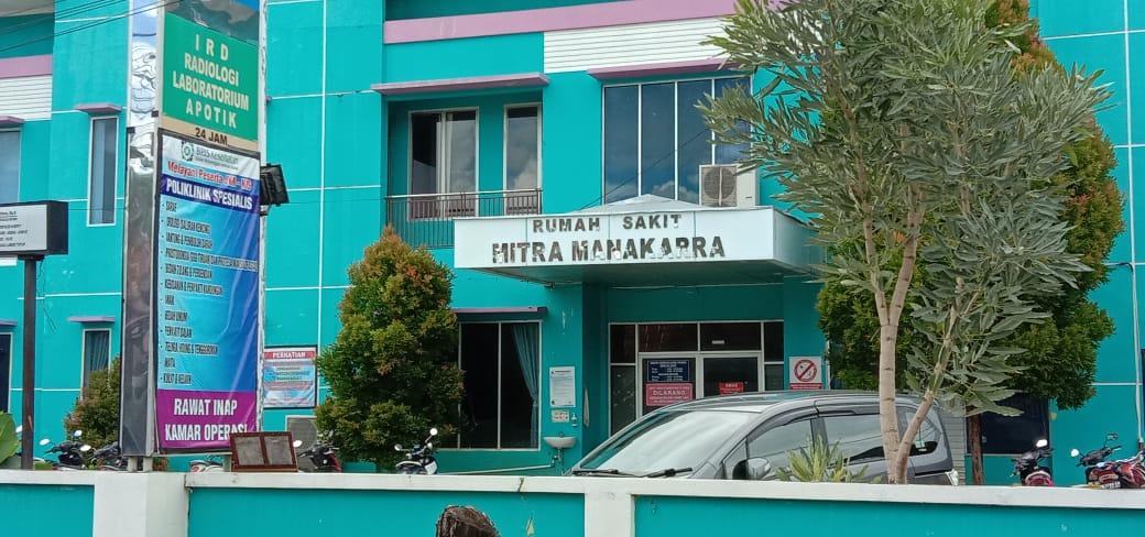 Pasien Melahirkan Reaktif Covid-19, 9 Tenaga Bidan RS Mitra Manakarra Jalani Isolasi Mandiri.