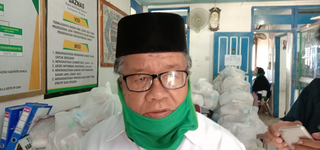 BAZ Nasional Mamuju Terapka Pembayaran Zakat Fitrah Secara Online