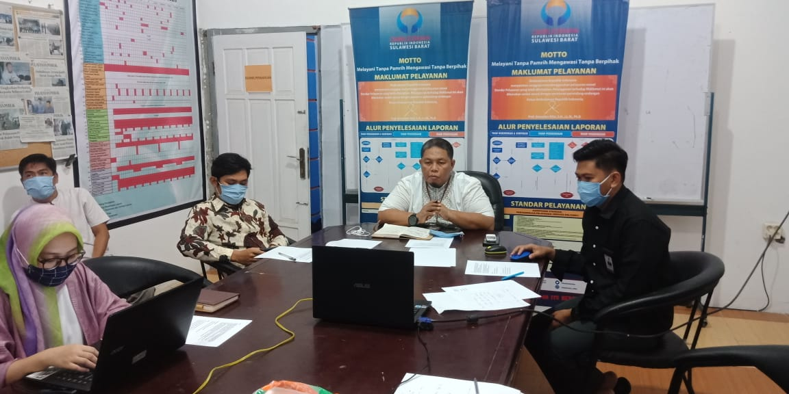 Ombudsman Sulbar Bentuk Satgas Awasi Layanan Tim Gugus Covid-19 Sulbar
