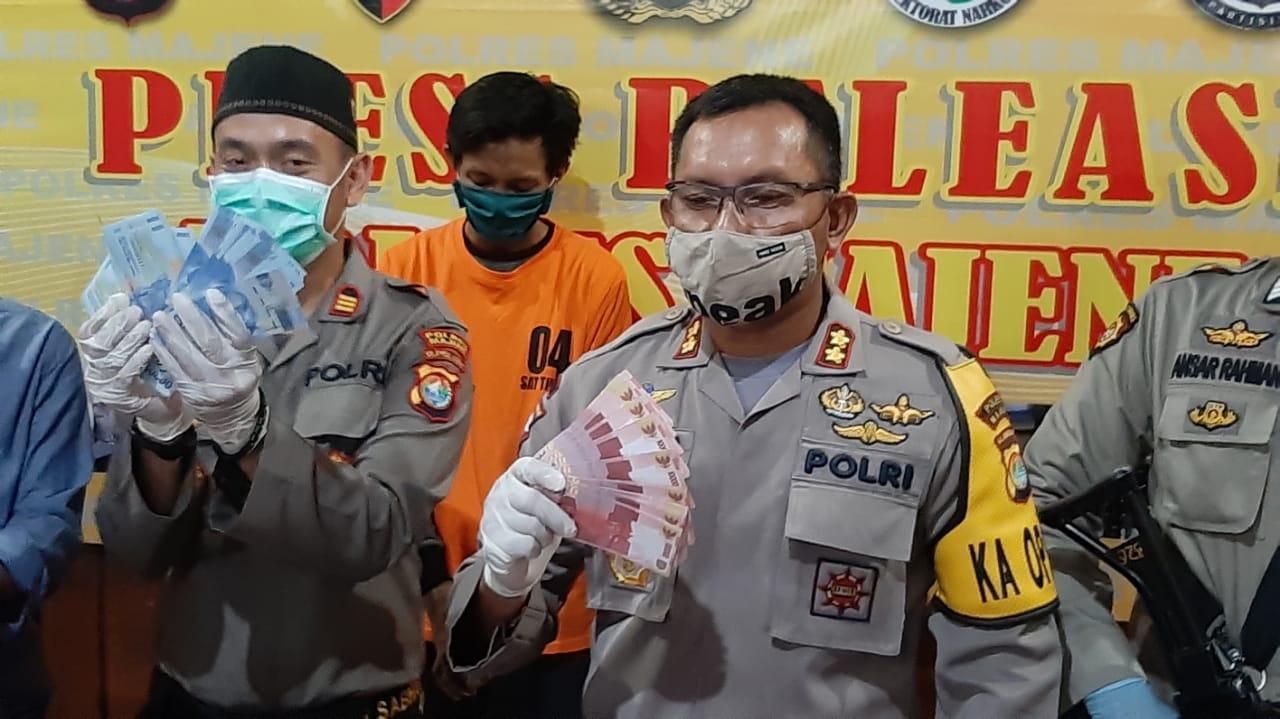Polisi Ungkap Peredaran Upal Rp, 47.800.000