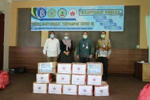 BMPD, BI dan BINDA Sulbar Kembali Salurkan Bantuan Pangan