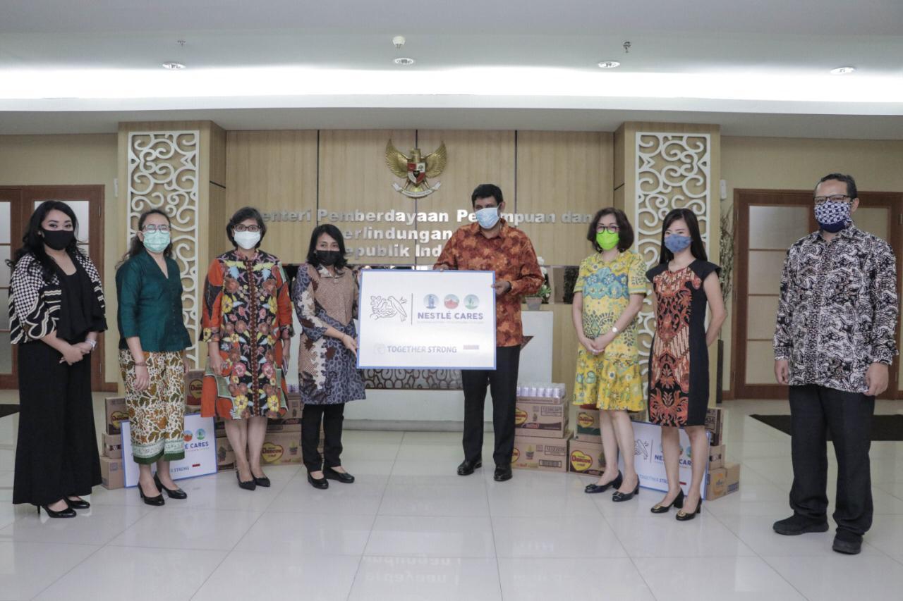 Menteri Bintang Sambut Baik Bantuan Spesifik dari Nestle Indonesia