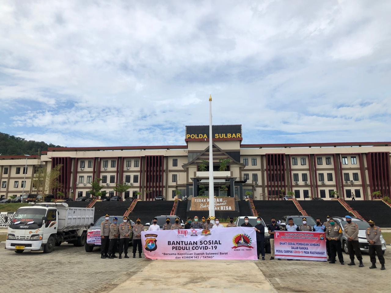 TNI/POLRI Bersama Relawan Akan Kembali Salurkan 1.200 Paket Sembako