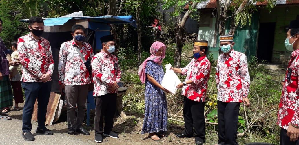 FKPT Sulbar Berbagi Sembako