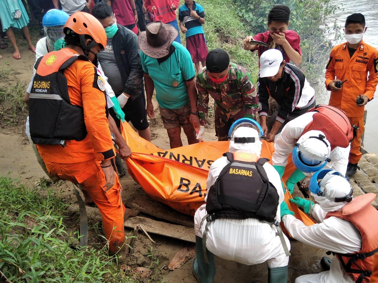 Pencarian Hari Ke-3 Tim SAR Gabungan Temukan 2 Korban Dalam Keadaan Meninggal