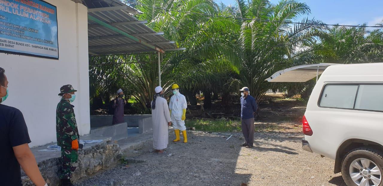 SA Asal Desa Bunde Positif Covid -19 Akhirnya di Jemput