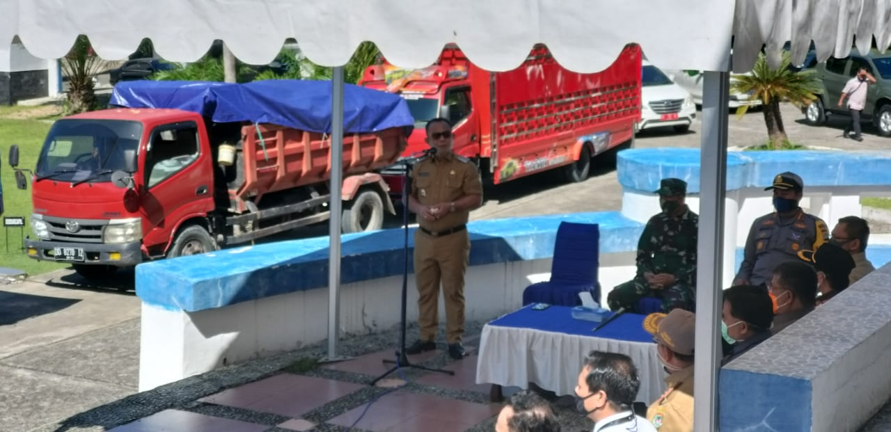 10.000 Paket Sembako Disalurkan Ke Kecamatan