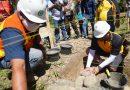 Kapolda Sulbar Meletakkan Batu Pertama SPN Mekkatta
