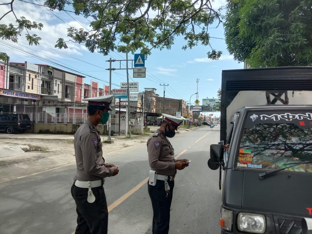 Lima Hari Operasi, Polisi Telah Melakukan Tujuh Puluh Penindakan