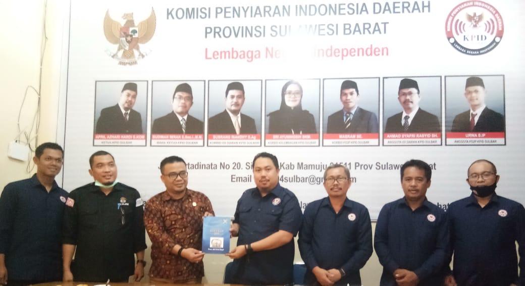 KPU Majene-KPID Sulbar Bangun Sinergitas Dorong Lembaga Penyiaran di Pilkada