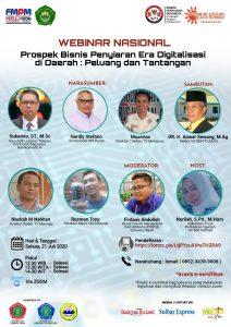 Institut Agama Islam DDI Polman-FPMP Sulbar Bahas Prospek Bisnis Penyiaran di Daerah