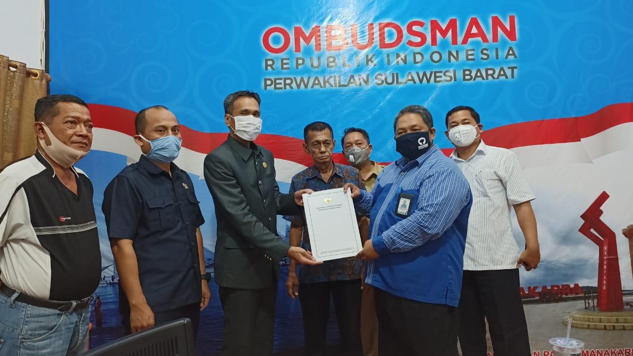 Jalan Arteri Terancam ditutup, Ombudsman Konsiliasi Pemprov , DPRD Sulbar dan Andi Amir DAI.