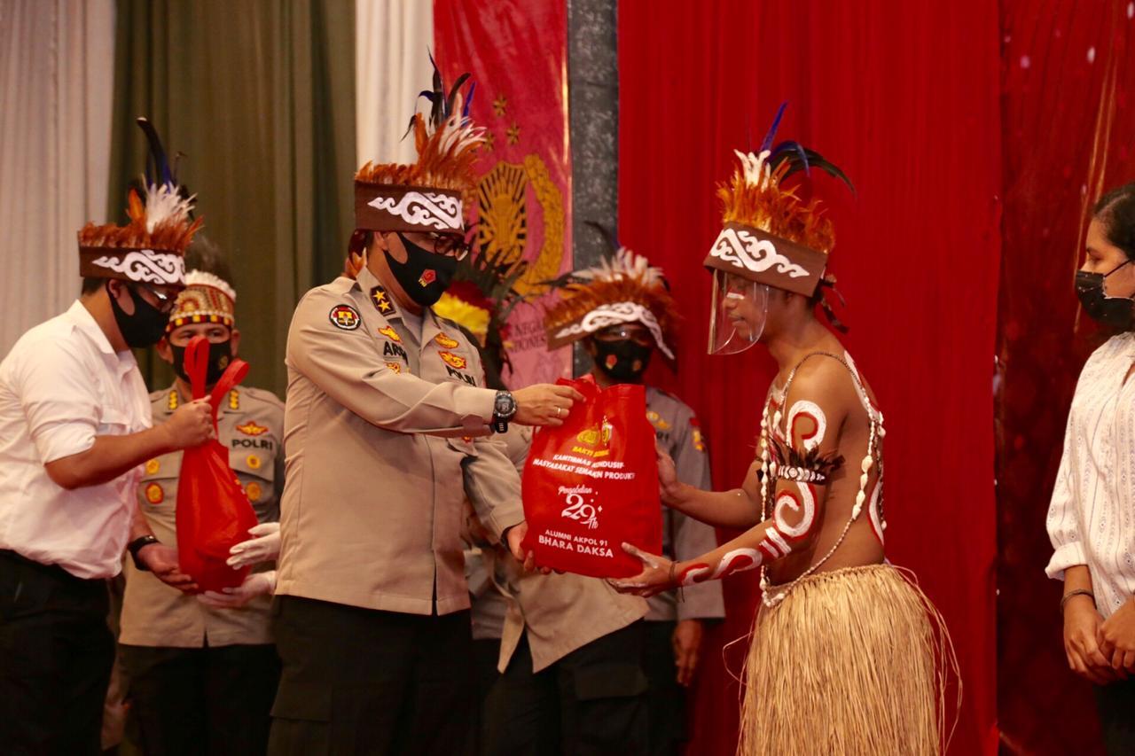 Kadiv Humas Polri : Peduli Sesama, Alumni Akpol 1991 Sebar 25.600 Paket Sembako Dan Bantuan Modal Usaha