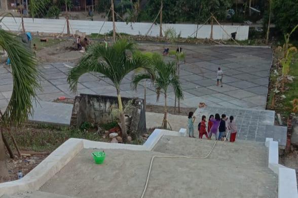 Polda Sulbar Benahi TMP Pattidi